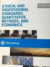 Ethical & Professional Standards,Quantitative Methods,& Eco 2014 LeveI 2 Vol 1