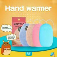 Hand Warmers USB Rechargeable Electric Heat Hot hands Bank Power a Charger U7U8