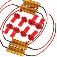 4Pack Load Resistor 50W 6ohm Fix LED Bulb Hyper Flash Turn Signal Blinker Sales