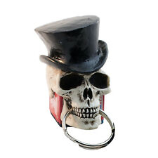 Made in USA Top Hat Skull Pool Billiards Cue Chalker Holder Chalk T29-CC