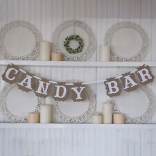 Candy Bar Baby Shower Sweet Baby Banner Bunting Garland Wedding Party Decoration