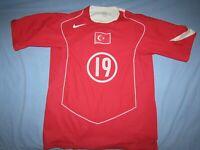 Turkey, Nike, matchworn? jersey, L, great
