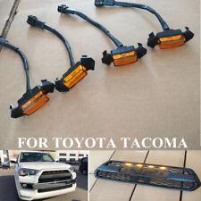 53a119d576 Conjunto de 4 indicadores Led Para Toyota Tacoma TRD Parrilla Rejilla de  color ámbar de 2016-2018 Luces LED ~ Kit (Fits: Toyota Tacoma)