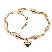 Pretty Golden Rhinestone Hollow Fox Drawing Oil Bracelet Women Jewelry Hot Sale