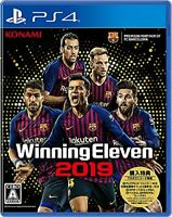USED PS4 PlayStation 4 Winning Eleven 2019 70962JAPAN IMPORT