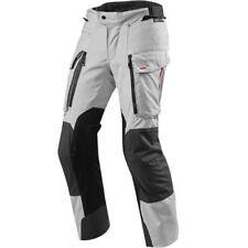 Pantalones urbanos textil de color principal plata para motoristas