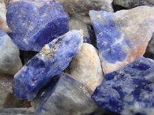 SODALITE Rough Rock Gem for tumbler polisher  1 LB Lots Perfect Size for Tumbler