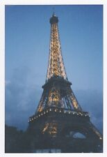 Found 90s PHOTO Lit Eiffel Tower Paris France