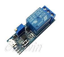 2pcs 5 30v Micro Usb Power Delay Relay Timer Control Module Trigger Delay Switch