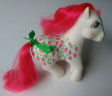 G1 My Little Pony Twice as Fancy STRAWBERRY FAIR / SUGARBERRY Vintage MLP 1980s