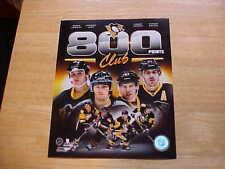 "Pittsburgh Penguins ""800 CLUB"" Crosby Lemieux Jagr Malkin Licensed 8X10 Photo"