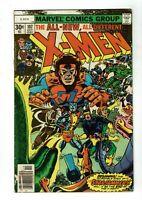 Uncanny X-Men #107, VG- 3.5, 1st Gladiator, Raza, Titan, Hepzibah, Mentor