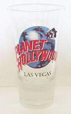 PLANET HOLLYWOOD  LAS VEGAS  FLUTED  3 1/2  INCH SHOT GLASS