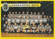 248 TEAM LAGBILD LANDSKRONA BOIS # SWEDEN STICKER FOTBOLL ALLSVENSKAN 1999