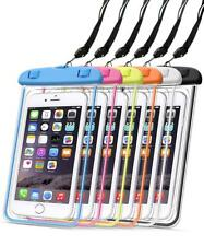 Waterproof Underwater Glow Phone Case Pouch Dry Bag for iPhone/Samsung/Huawei