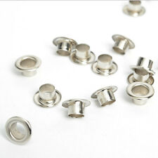 100pcs Metal eyelets Scrapbooking DIY Embelishment Garment Clothing Craft Silver