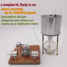 Super Powerful Steam Engine Model Complete Steam Engine Kit w/ Boiler Innovative
