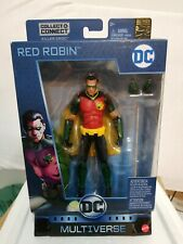 Mattel DC Multiverse Red Robin Batman 80 Years Killer Croc C&C BAF