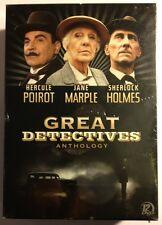 GREAT DETECTIVES ANTHOLOGY: Poirot/Sherlock Holmes/Marple NEW SEALED DVDS!!