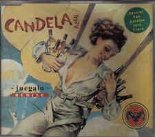 Candela Azul-Juegalo Remixe cd maxi single eurodance