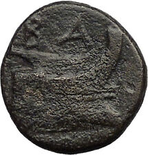 Demetrius I  Macedon Kingdom 294BC Galley Ship Greek Coin i31369