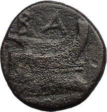 Demetrius I  Macedon Kingdom 294BC Galley Ship Greek Coin i31369