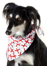 BANDANA'S for DOGS in GEORGE CROSS, POLKA DOT, CHRISTMAS & OTHERS