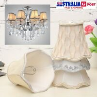 Vintage Small Lace Lamp Shades Fabric Pendant Chandelier Wall Light Covers Decor