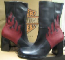 Harley-Davidson Womens Downtown boot black Size 9.5 M NEW