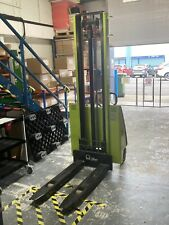 More details for 3500mm 1200kg electric pallet stacker by pramac