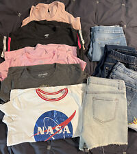 Huge Girls Clothing Lot - XL 14/16 Youth Jeans Shirts Old Navy, Justice