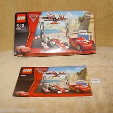 LEGO INSTRUCTIONS Cars: 8423-1 World Grand Prix Racing Rivalry (2011) BOX FRONT