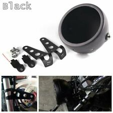 "5.75"" 5-3/4 Motorcycle LED Headlight Headlamp Shell Bucket Housing Mount Bracket"