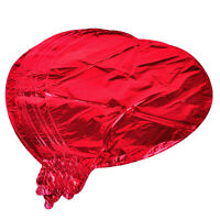 10pcs Red Love Heart Foil Helium Balloons for Wedding Birthday Party Decoration