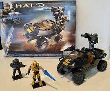 Halo Mega Bloks: UNSC Attack Gausshog + Mini-figures, 100% Complete, Pre-Loved
