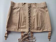 PASTUNETTE Taille EU106 UK44 Gaine Serre-taille vintage lacets couleur chair