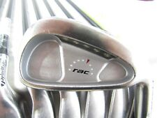 Used Taylormade RAC OS Iron Set 3-P Regular Flex Graphite Shafts (Midsize Grips)