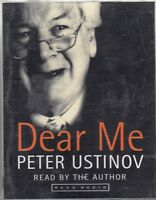 Peter Ustinov Dear Me 2 Cassette Audio Book Autobiography Actor FASTPOST