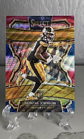 DIONTAE JOHNSON 2019 PANINI SELECT CONCOURSE RED WHITE BLUE SP ROOKIE RC #D /199