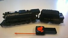 Lionel G Gauge 1225 Engine, Polar Express Coal Tender & Remote-Tested Excellent