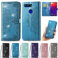Bling Mandala Wallet Leather Flip Case Cover For Huawei Y7 2019 Mate 30 P30 Lite
