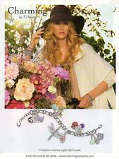 Publicité Advertising 2011  Charming by Ti Sento joaillerie collection mode