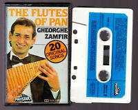 GHEORGE ZAMFIR THE FLUTES OF PAN - Cassette Tape Vintage