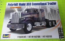 REVELL PETERBILT 359 CONVENTIONAL SEMI TRUCK TRACTOR SEALED MODEL KIT
