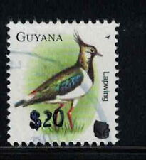 Guyana Scott 4020L $20 Provisional Surcharge on Lapwing Definitive