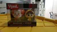 Stephen King It Movie Pennywise The Clown and Georgie Funko Vinyl Figure NIP