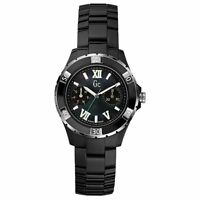 NEW GUESS COLLECTION GC MOP LADY WATCH BLACK SPORT CLASS XLS GLAM DATE X69002L2S