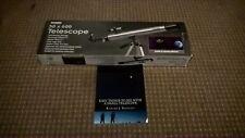 ZENNOX 50 X 600 TELESCOPE FINDERSCOPE 2 EYEPIECES ALUMINIUM TRIPOD WITH BOX+book