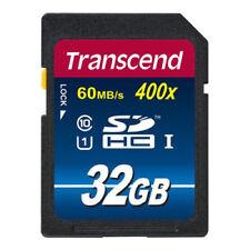 Transcend SDHC 32GB Class 10 UHS-I 400x Speicherkarte TS32GSDU1 32 GB UHS-1 neu