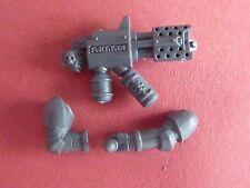 Incinerador de alimentación Armadura Caballeros Gris/bits Flamer - 40K